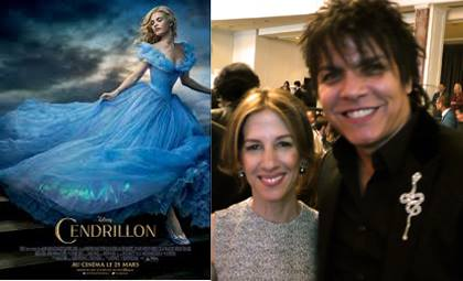 Allison Shearmur, Producer of the Disney Studios CENDRILLON 2015 with Nabil HAYARI #losangeles #cendrillon2015 #disneystudio #hayari #movie