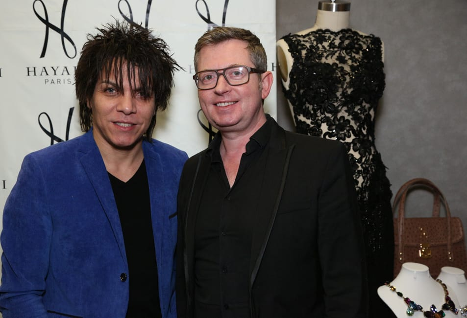 Nabil Hayari, Créateur Couture et Hugues Alard, PDG de Hayari Paris