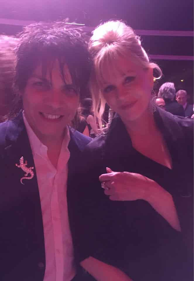 Nabil Hayari with Melanie Griffith
