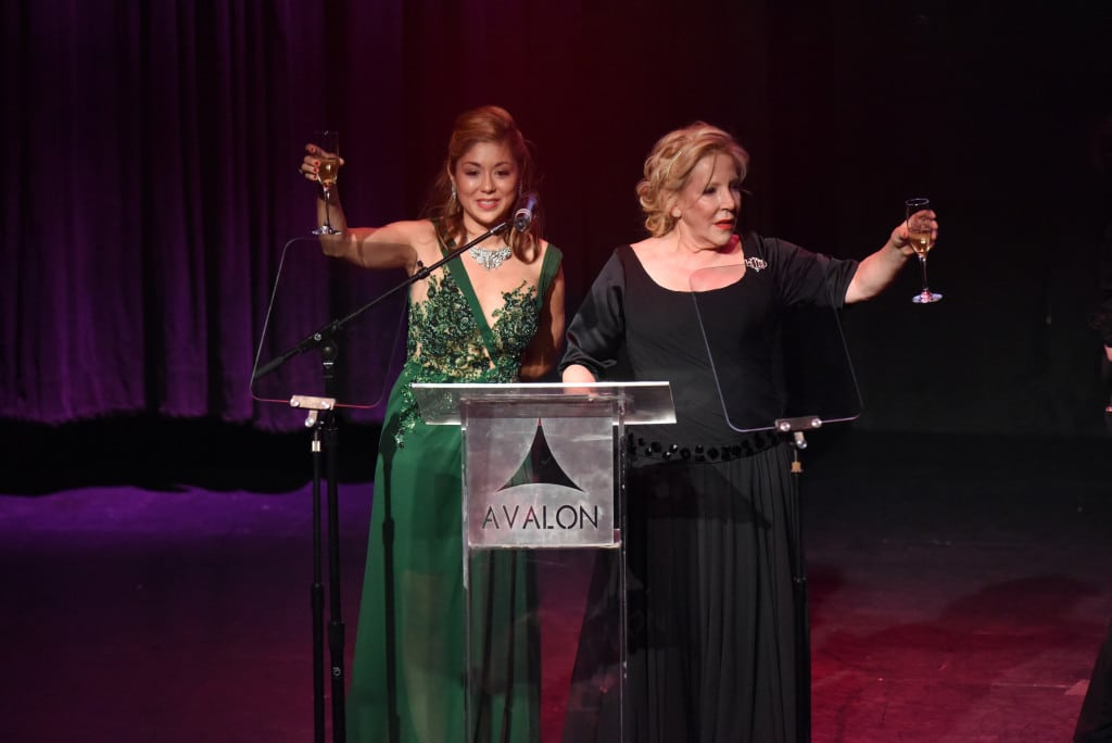 Pamela Price and Michele Elyzabeth, executive producer and founder of the Hollywood Beauty Awards