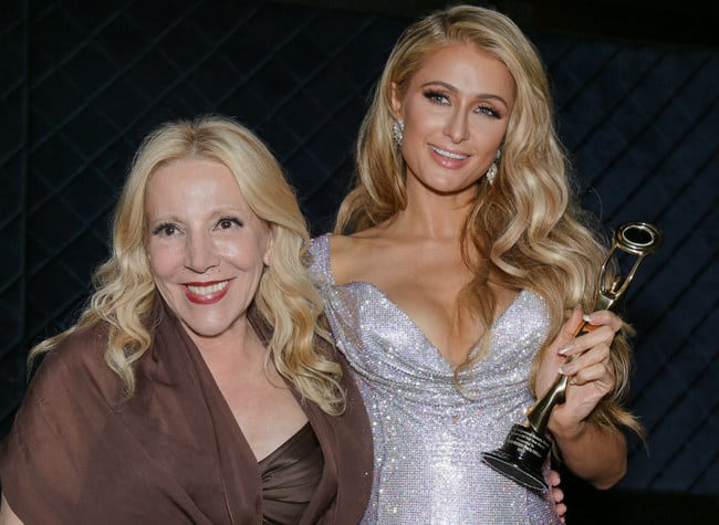 Michele Elyzabeth and Paris Hilton