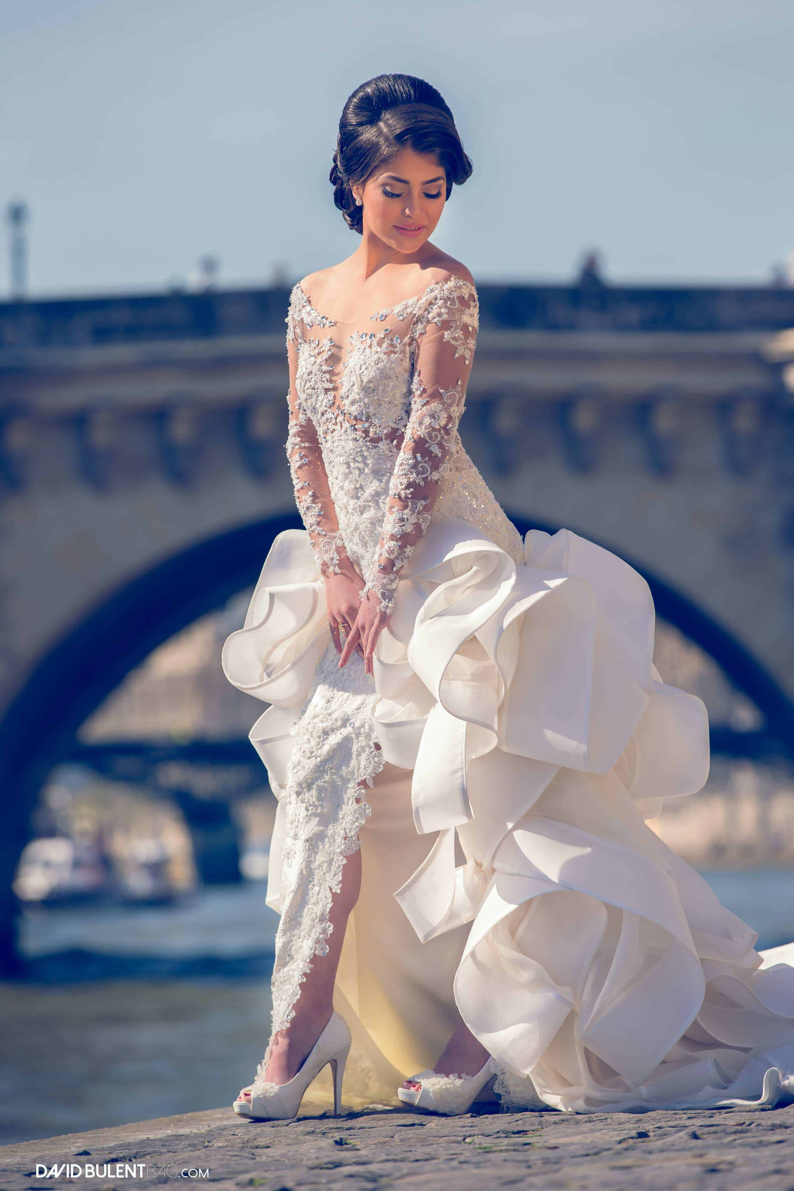 Wedding Collection - Hayari Couture Paris Exclusive gowns - French ...