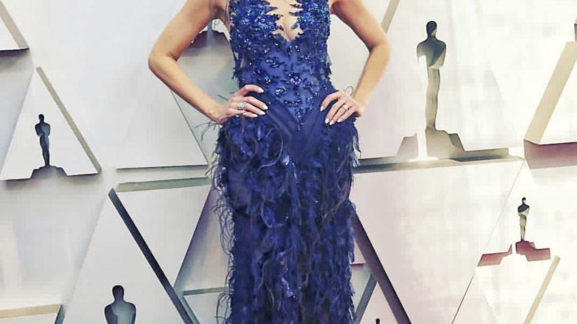 Jessica Homles in Hayari for Oscars