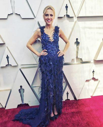 Jessica Holmes in Hayari for Oscars