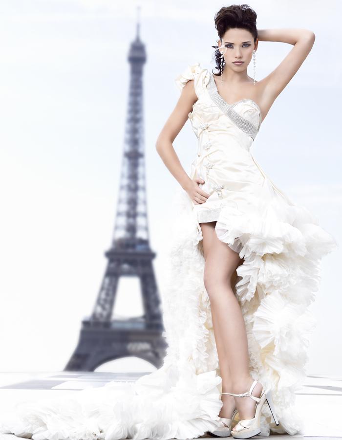 robe de mariee Hayari sur mesure